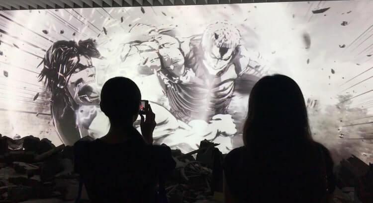 進撃の巨人展(ジオラマシアター)映像
