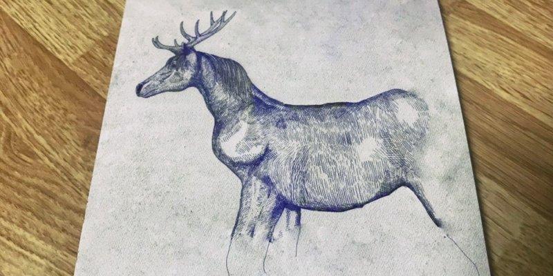 米津玄師の「馬と鹿」のCDジャケット