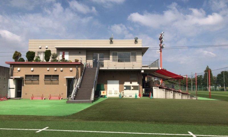 浦和レッズの大原サッカー場