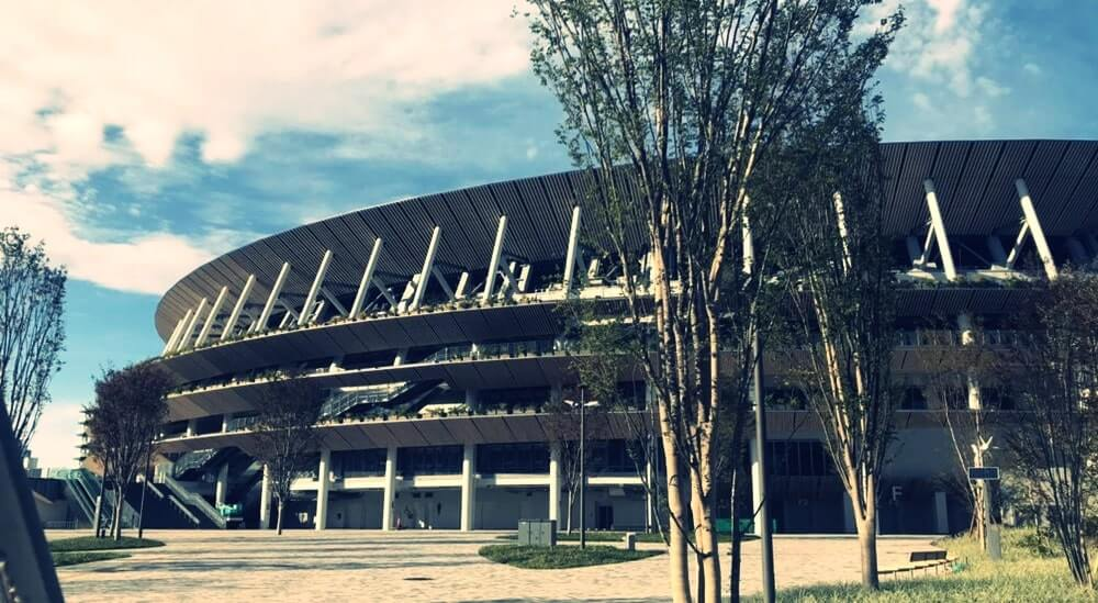 新国立競技場の外観