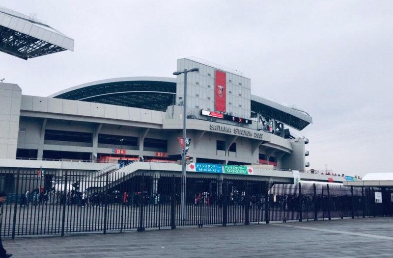 埼玉スタジアム2020の外観